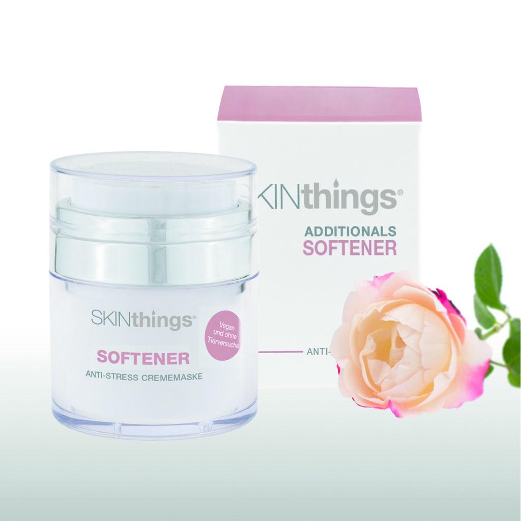 skinthings softener intensiv beruhigende leave on mask