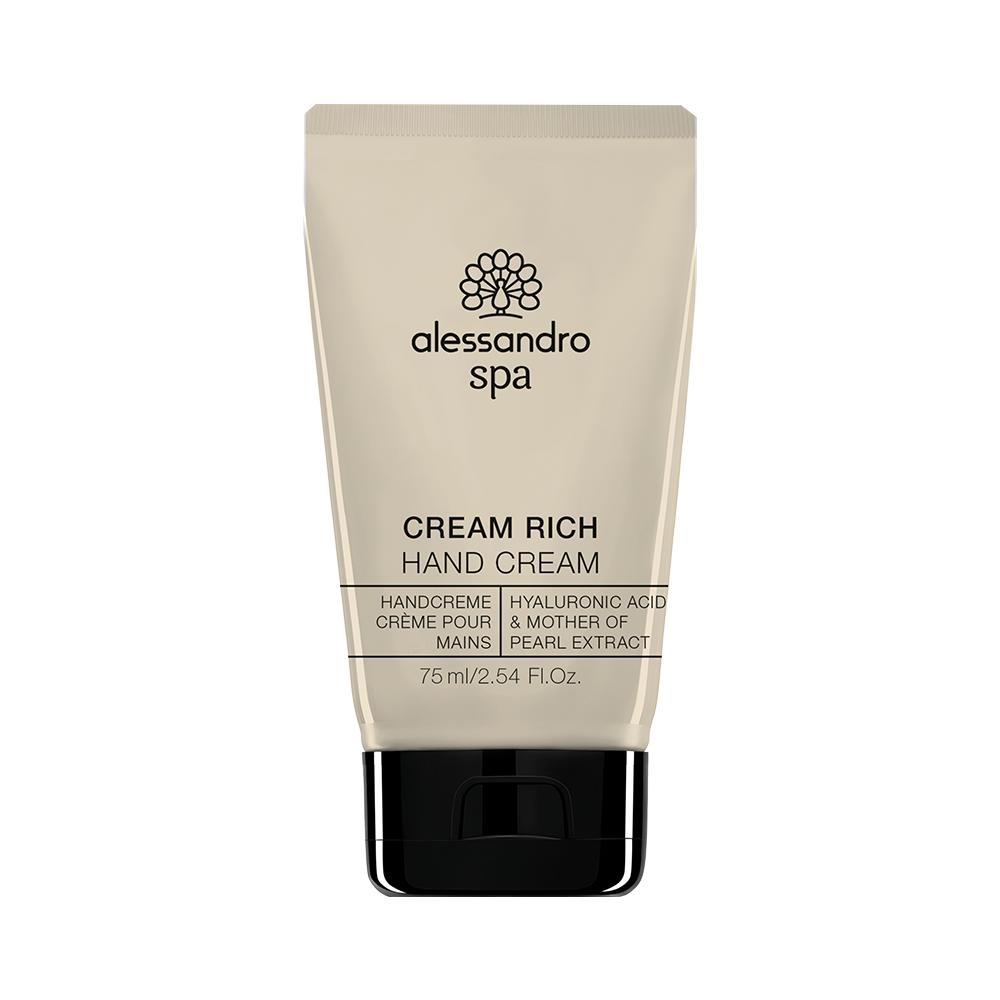 alessandro spa cream rich hand cream